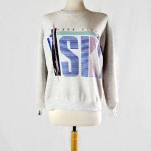 Vintage 1989 Park City Ski UTAH Crew Neck Sweater by Jerzees