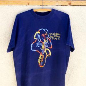 Vintage 30th Montreux Jazz Festival 1996 T-Shirt