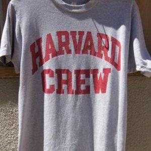 Vintage 80's Harvard Crew T Shirt by Screen Stars
