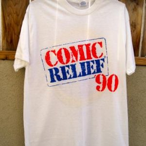 Vintage T-Shirt Comic Relief '90 with Spring Ford Label
