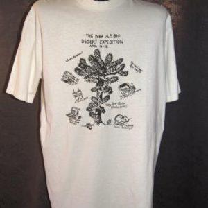 Vintage T-Shirt The 1989 A.P. Bio Desert Expedition