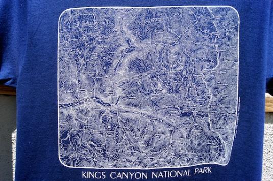 Vintage Miller T-Shirt – Kings Canyon National Park – 1982 T