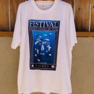 Rare Original Vintage 1988 Cannes Film FestivalT-Shirt