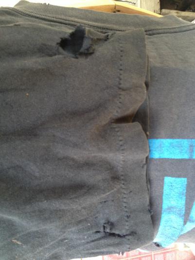 Vintage NINE INCH NAILS 90s Now I'm Nothing T-shirt L Origin