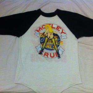 Vintage Mötley Crüe. Bad Boy Boogie. Jersey T-Shirt.