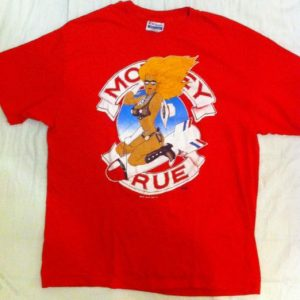 Mötley Crüe Red Girls Girls Girls Tour T-shirt