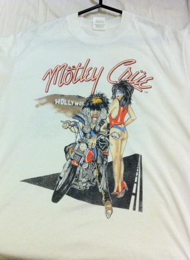 Mötley Crüe, Allister Fiend. Girls, Girls Girls.