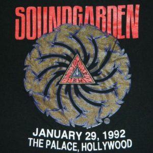 Vintage Soundgarden KNAC T-Shirt