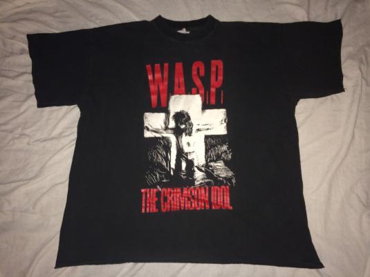 W.A.S.P. Crimson Idol 92′ UK Tour