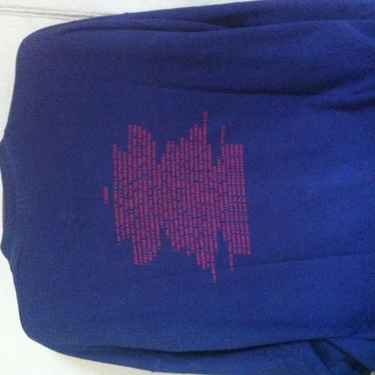 Manic Street Preachers FASTER Vintage Tshirt