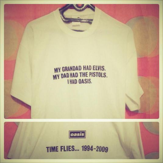 Oasis - Time Flies