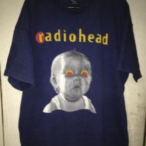 Radiohead Pablo Honey Tour 1993