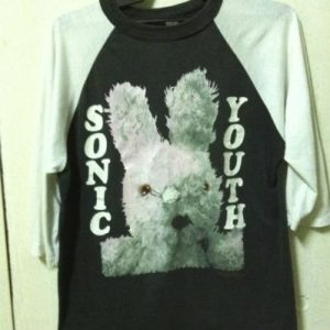 SONIC YOUTH DIRTY BUNNY 3 QUATER 1992 SHIRT
