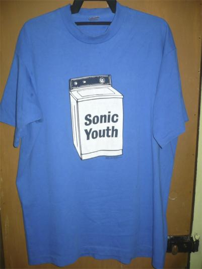 SONIC YOUTH WASHING MACHINE TOUR 1995