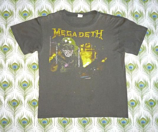 Megadeth 1988 So Far, So Good… So What! Vintage T Shirt