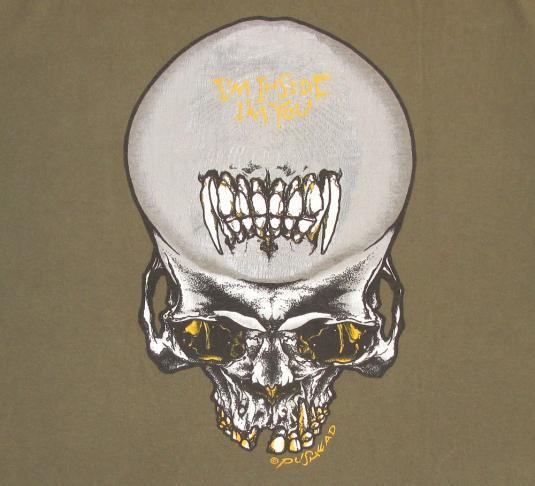 Metallica 1992 Sad But True Tour Vintage T Shirt Pushead