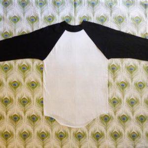 Blank Baseball 80's Vintage Jersey T Shirt Deadstock