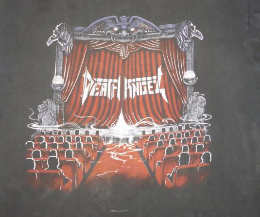 Death Angel 1990 Act III Vintage T Shirt 90's