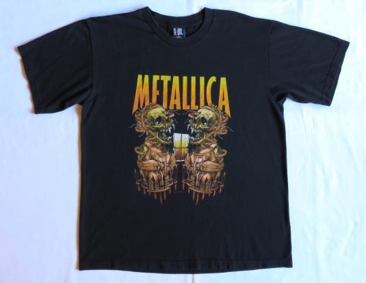 Metallica 00's Summer Sanitarium Vintage T Shirt Concert