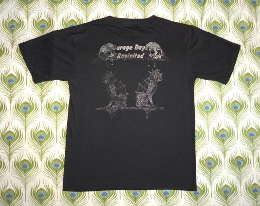 Metallica 1987 Metallikatz Unite Vintage T Shirt Garage Days