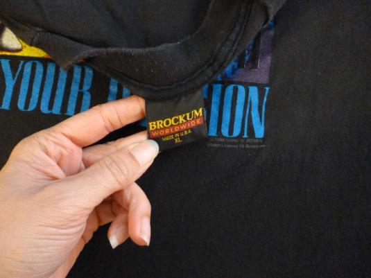 Guns N' Roses 1992 Vintage T Shirt Use Your Illusion I & II