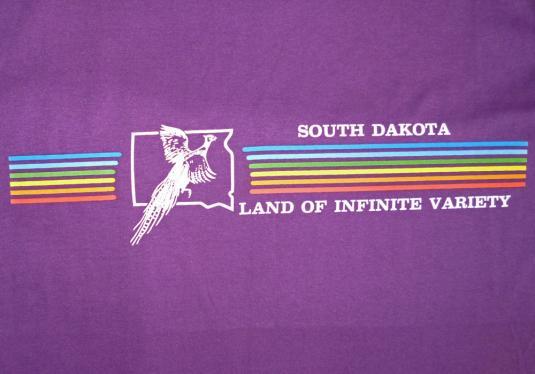 South Dakota Signal 80's Vintage T Shirt Deadstock Tourist