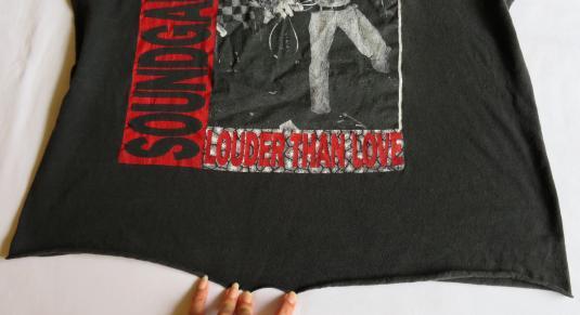 Soundgarden 90's Louder Than Love Vintage T Shirt F' Godhead
