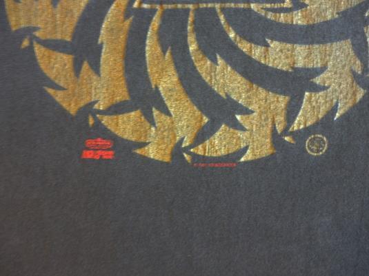 Soundgarden 1991 Badmotorfinger Vintage T Shirt Saw Blade