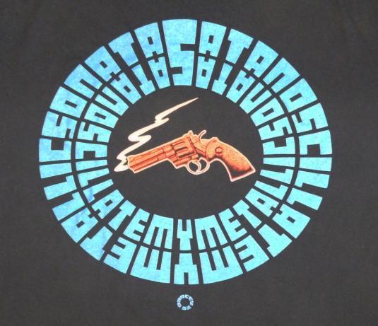 Soundgarden 1992 Badmotorfinger Vintage T Shirt