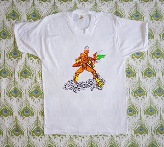 Thrill Kill 80's Sci-Fi Art Vintage T Shirt Deadstock M