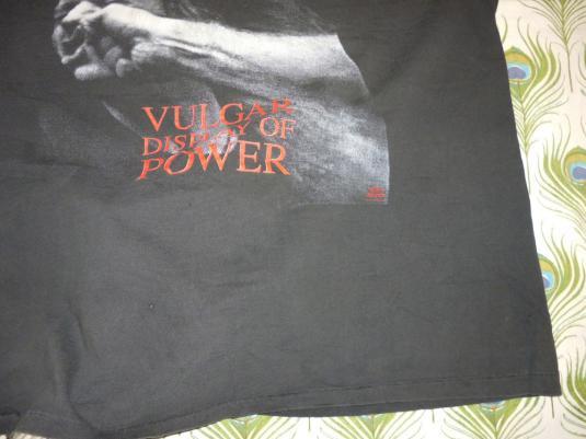 Pantera 1992 Cowboys From Hell Tour Vintage T Shirt Vulgar