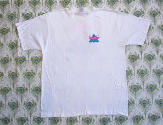 Island Surf Club 1984 Vintage T Shirt Hawaii Deadstock 80's