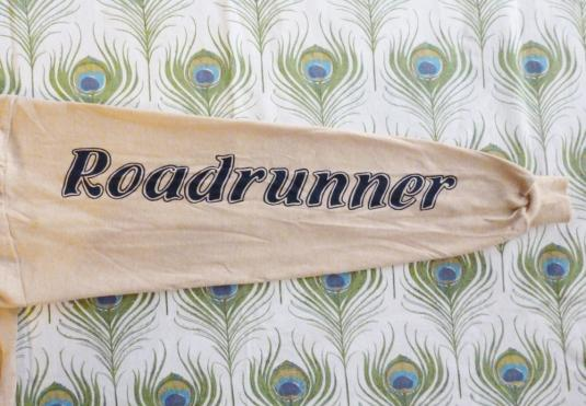 Roadrunner 70's Vintage Hoody T Shirt Deadstock Racing