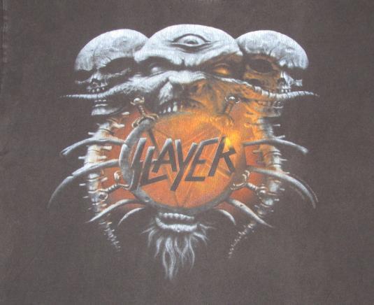 Slayer 1994 Divine Intervention Tour Vintage T Shirt Embrace
