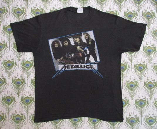 Metallica 1987 Garage Days Re-Revisited Vintage T Shirt 80's