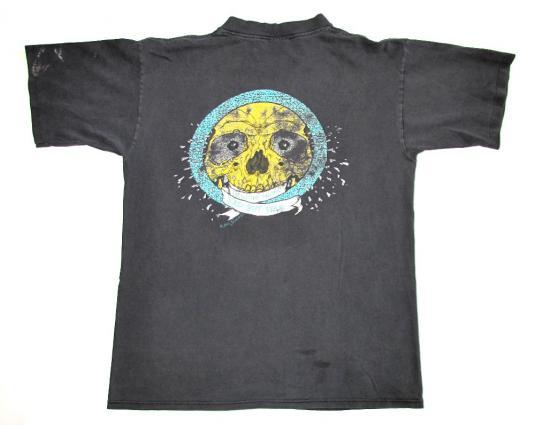 Metallica 1991 Sad But True Tour Vintage T Shirt Pushead