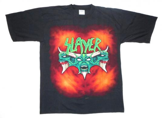 Slayer 90's Diabolus Tour Vintage T Shirt Concert Demons