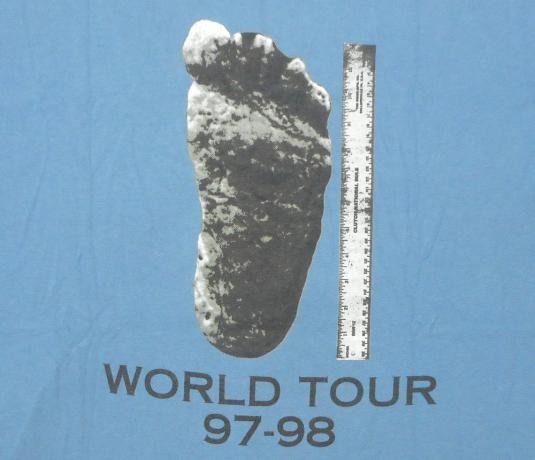 Clutch 90's World Tour Vintage T Shirt Stoner Funk Rock