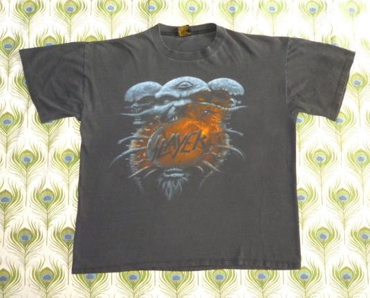 Slayer 1994 Death Loves Final Embrace Vintage T Shirt Divine