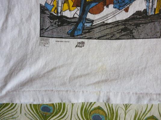 X-Men 90's Vintage T Shirt Unite Marvel Comics Wolverine