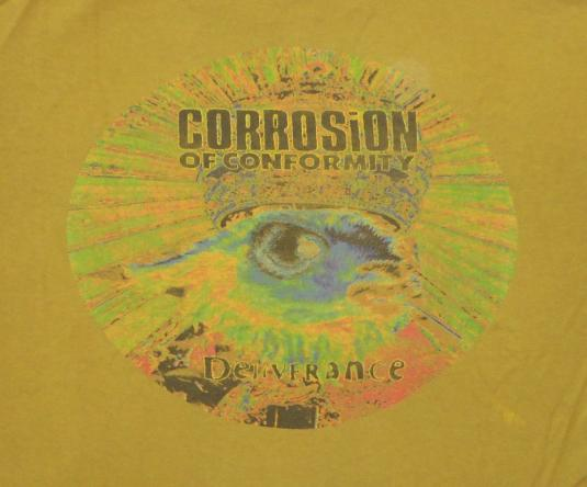 Corrosion Of Conformity 90's Deliverance '94 Vintage T Shirt