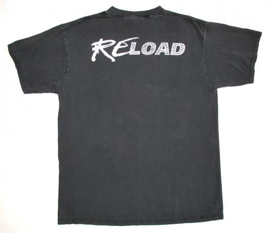 Metallica 1997 ReLoad Tour Vintage T Shirt 90's Concert