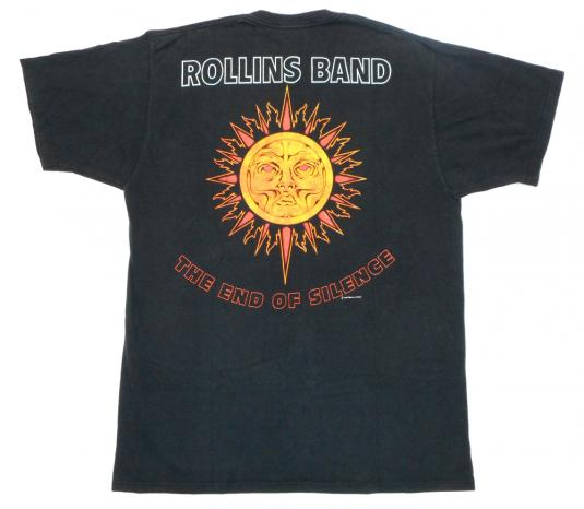 Rollins Band 1992 End Of Silence Tour Vintage T Shirt 90's