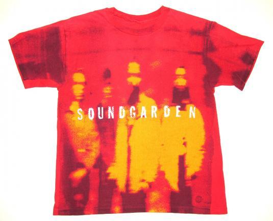 Soundgarden 90's Superunknown Tour Vintage T Shirt Allover