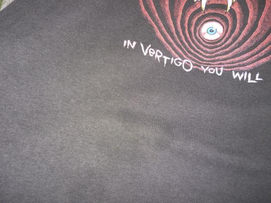 Metallica 1988 Shortest Straw Vintage T Shirt Justice