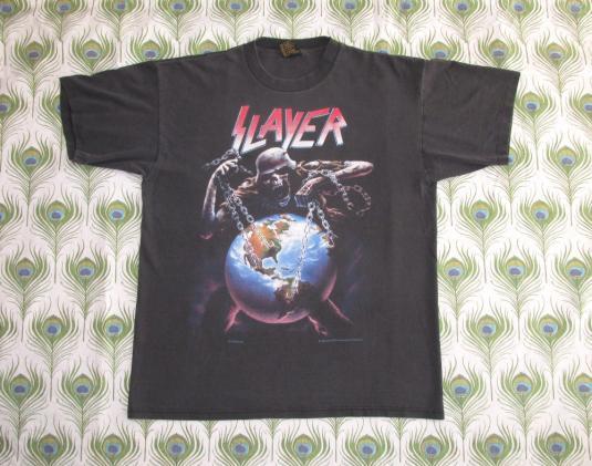 Slayer '94 Divine Intervention Vintage T Shirt Intourvention