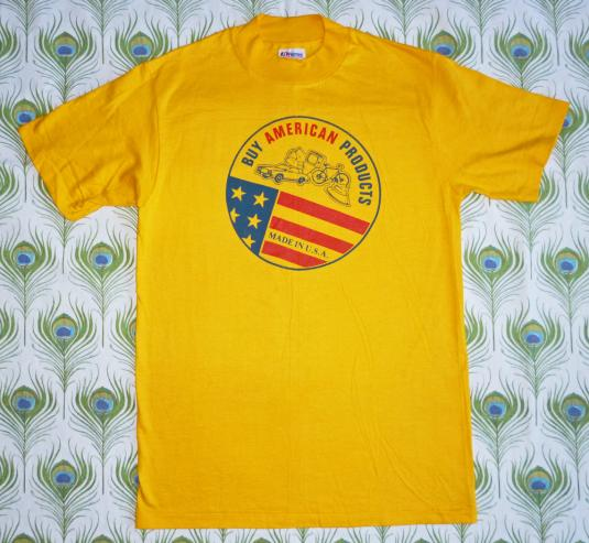 Buy American Products 80's Vintage T Shirt Deadstock 80's US
