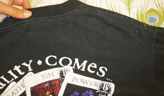 Corrosion Of Conformity 1991 Tour Vintage T Shirt Pushead