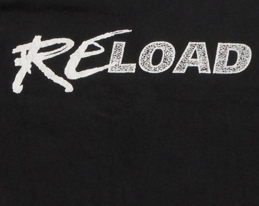 Metallica 90's ReLoad Tour Vintage T Shirt 96/7 Concert
