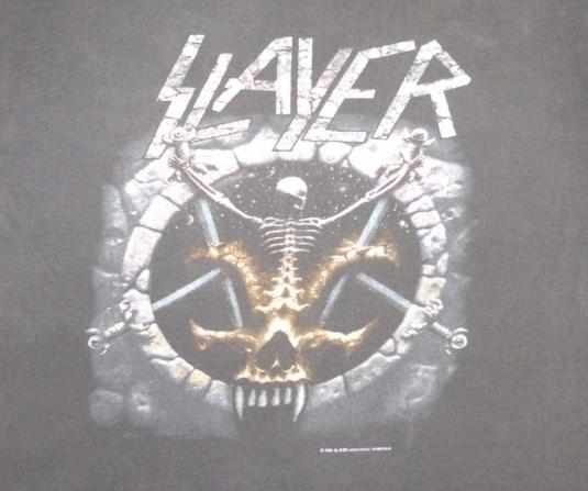 Slayer 1994 Divine Intervention Vintage T Shirt